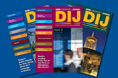 The Door Industry Journal is an independently produced and edited trade publication, published on behalf of the door and automated gate industries.