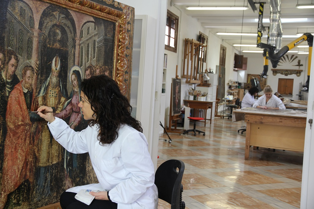 Taller de Restauració del Bisbat de Mallorca