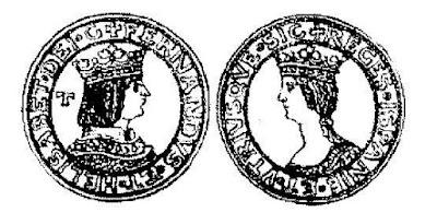 """En 1504 se acuña en Nápoles moneda de los Reyes Católicos como """"Reges Ispanie"""". Porque eran fachas."""