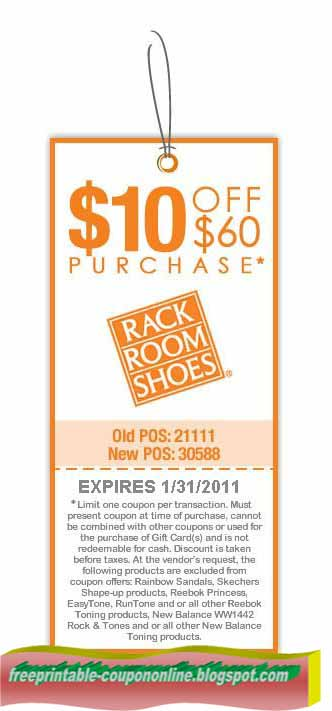 Printable Coupons 2018 Rack Room Shoes Coupons