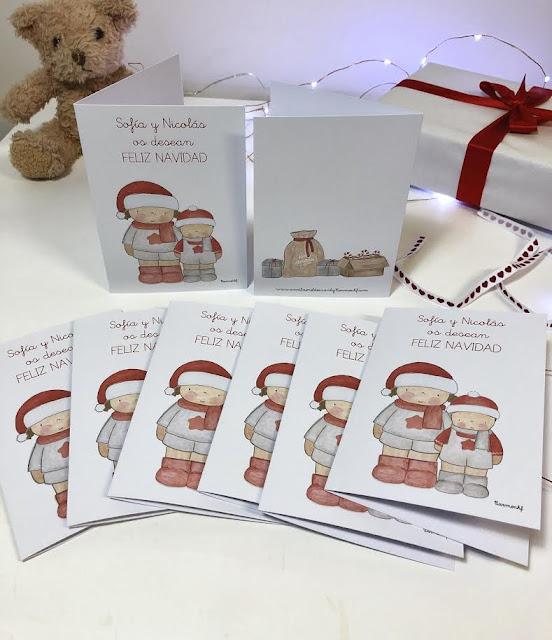 Postales-navidad-personalizadas-Sofía y Nicolás