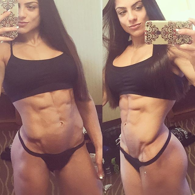 Fitness Model Ariel Khadr Instagram photos