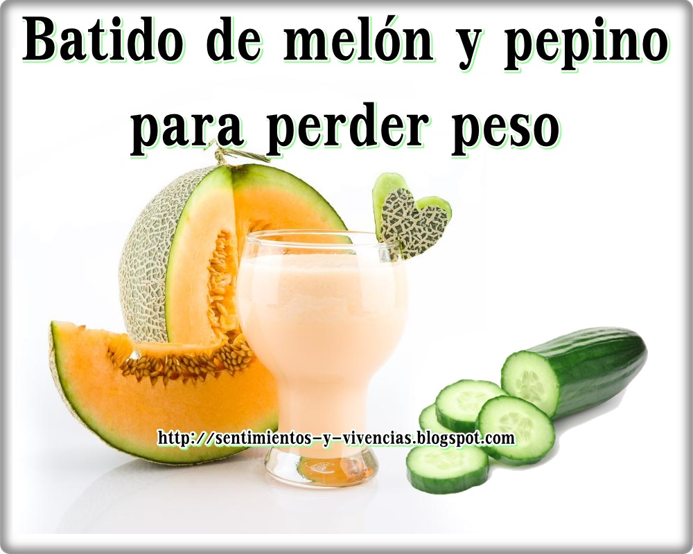 Chia pepino y limon para adelgazar