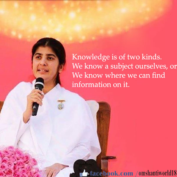 knowledge quote by shivani
