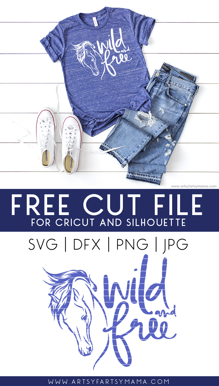Wild and Free FREE Cut File