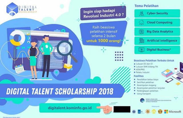 Digital Talent Scholarship
