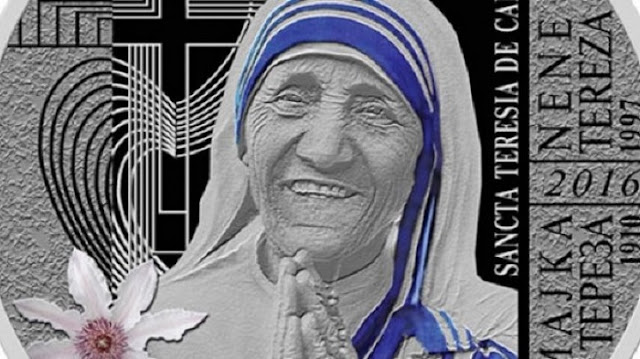 A coin with the portrait of Mother Teresa to be issued by Macedonia