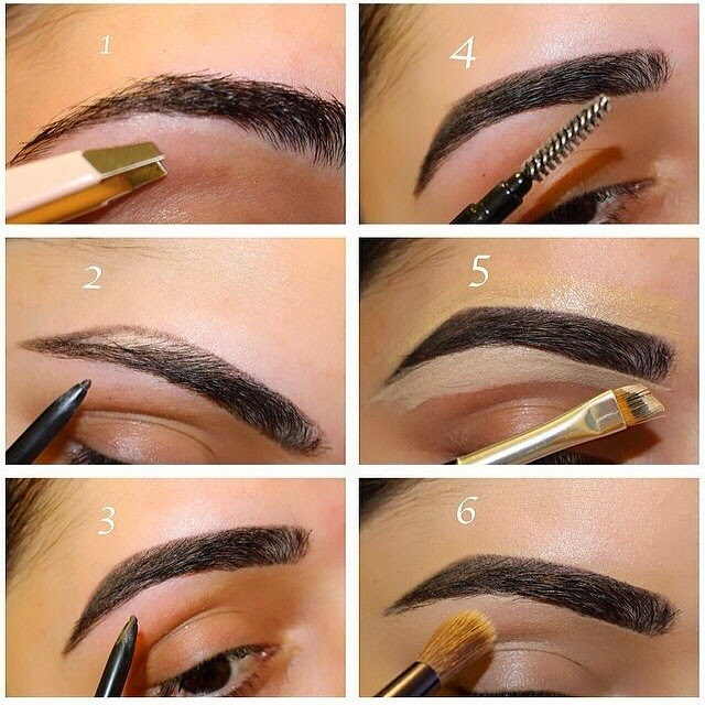 How To Make Perfect Eyebrows At Home ~ Entertainment News ...