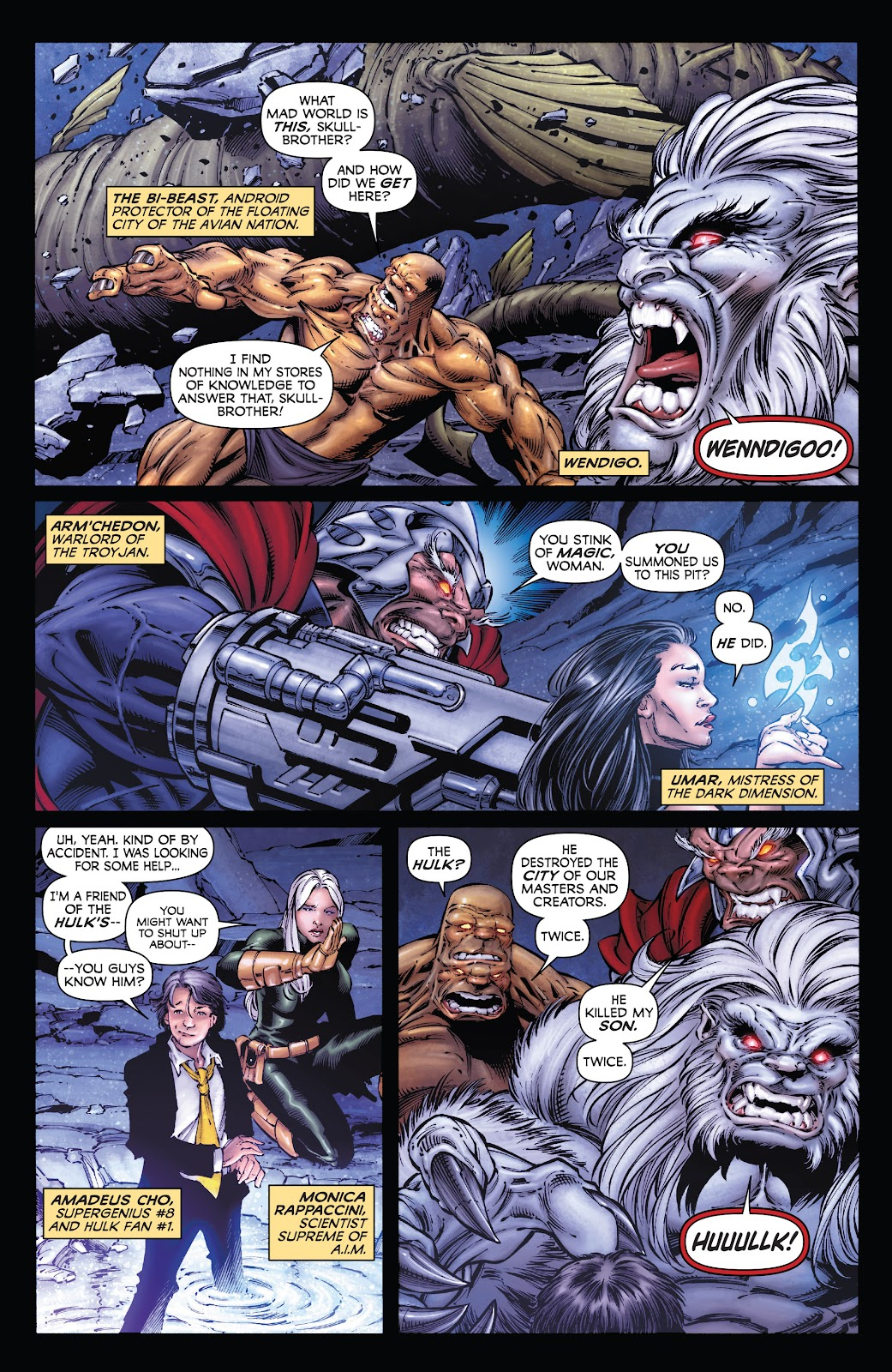 Read online Incredible Hulks (2010) comic -  Issue # _TPB Heart of the Monster - 29