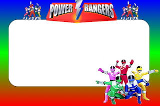 Power Rangers Jungle Fury Power Rangers Coloring Pages Free - Power rangers birthday invitation template