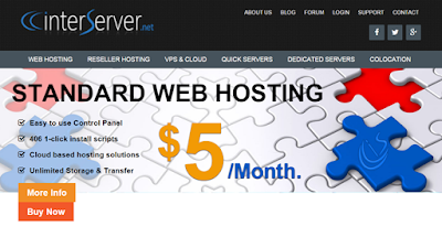 best and cheaper hosting  - interserver review