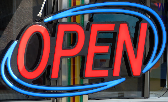 Using a store sign will attract more and build a good impression to customers