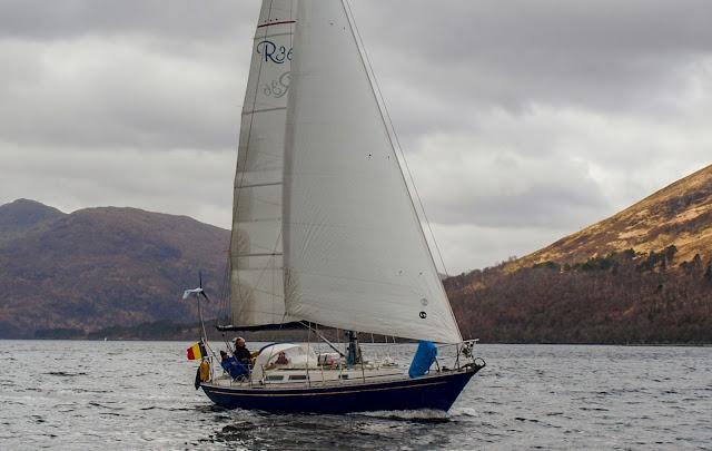 Rustler 36 Loch Linnhe
