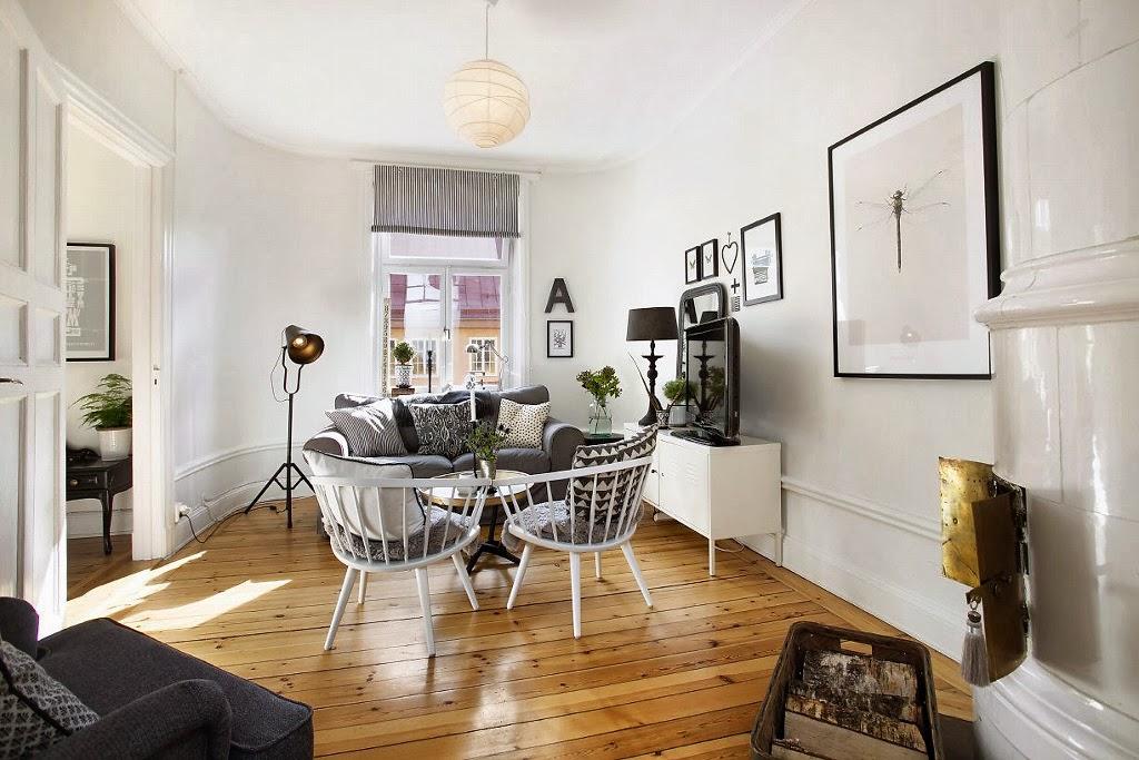 Black & white plus mieszanka stylów - wystrój wnętrz, wnętrza, urządzanie domu, dekoracje wnętrz, aranżacja wnętrz, inspiracje wnętrz,interior design , dom i wnętrze, aranżacja mieszkania, modne wnętrza, styl skandynawski, scandinavian style, styl eklektyczny, białe wnętrza