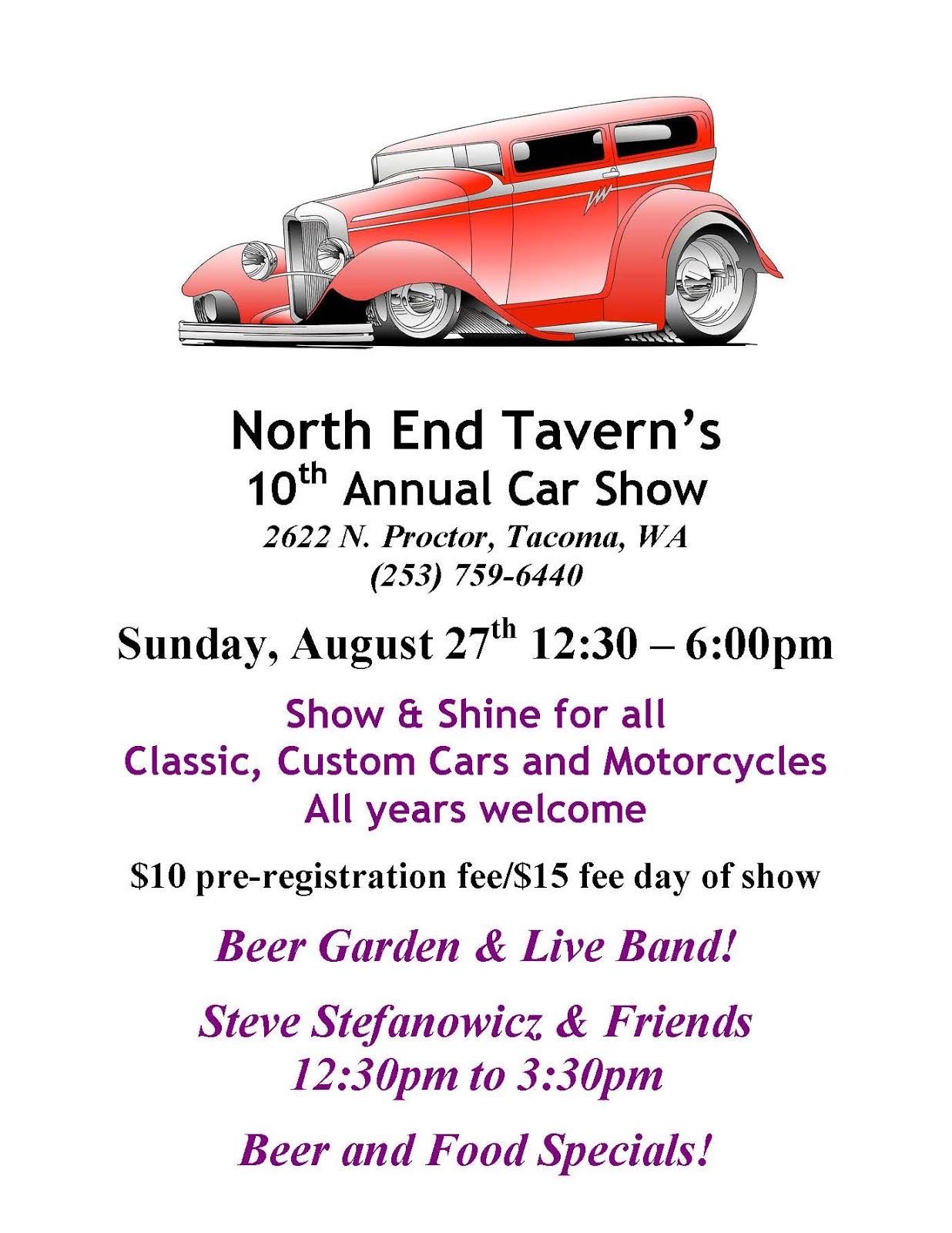 North End Tavern Car Show