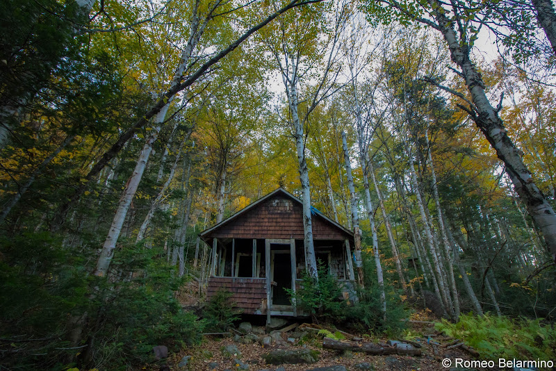 Big Moose Mountain Old Fire Warden's Cabin Maine Hiking Moosehead Pinnacle Pursuit
