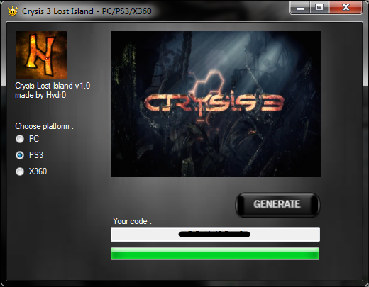 Crysis 3 Lost Island DLC code for free | Redeem codes
