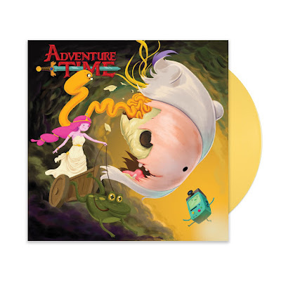 "San Diego Comic-Con 2018 Exclusive Adventure Time 7"" Vinyl Record Single by Mondo x Cartoon Network x JJ Harrison"