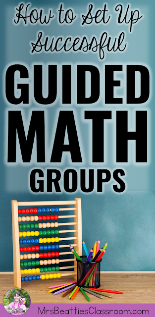 Setting up small groups in Guided Math can be a challenge. This post contains ideas for how to ensure every student in your classroom is part of the right Guided Math group. Grab a FREE Guided Math Starter Kit while you're there!
