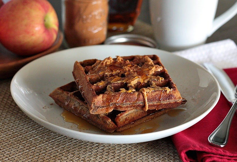 waffles apple cinnamon