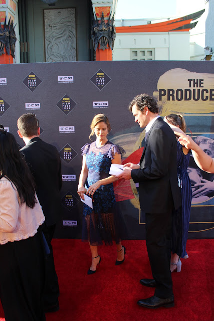 Andrea Savage and Tom Everett Scott TCM Classic Film Festival