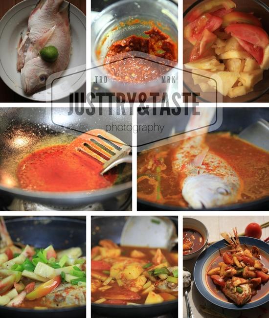 Resep Sup Asam Pedas Ikan Kakap dengan Nanas