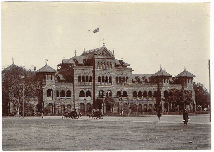 Sailors Home in Bombay (Mumbai) c1900