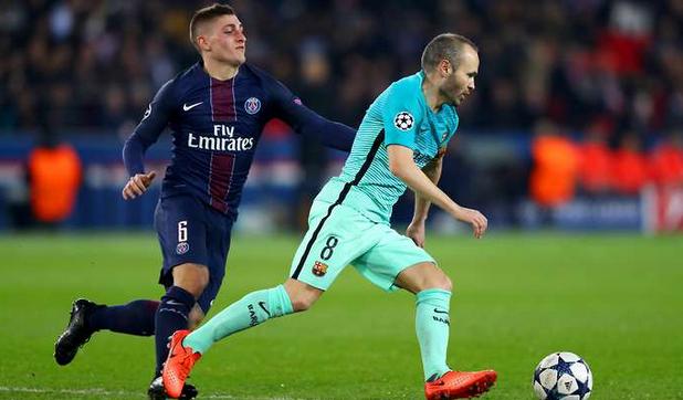 Respon Barcelona Setelah PSG Membahas Masa Depan Marco Veratti