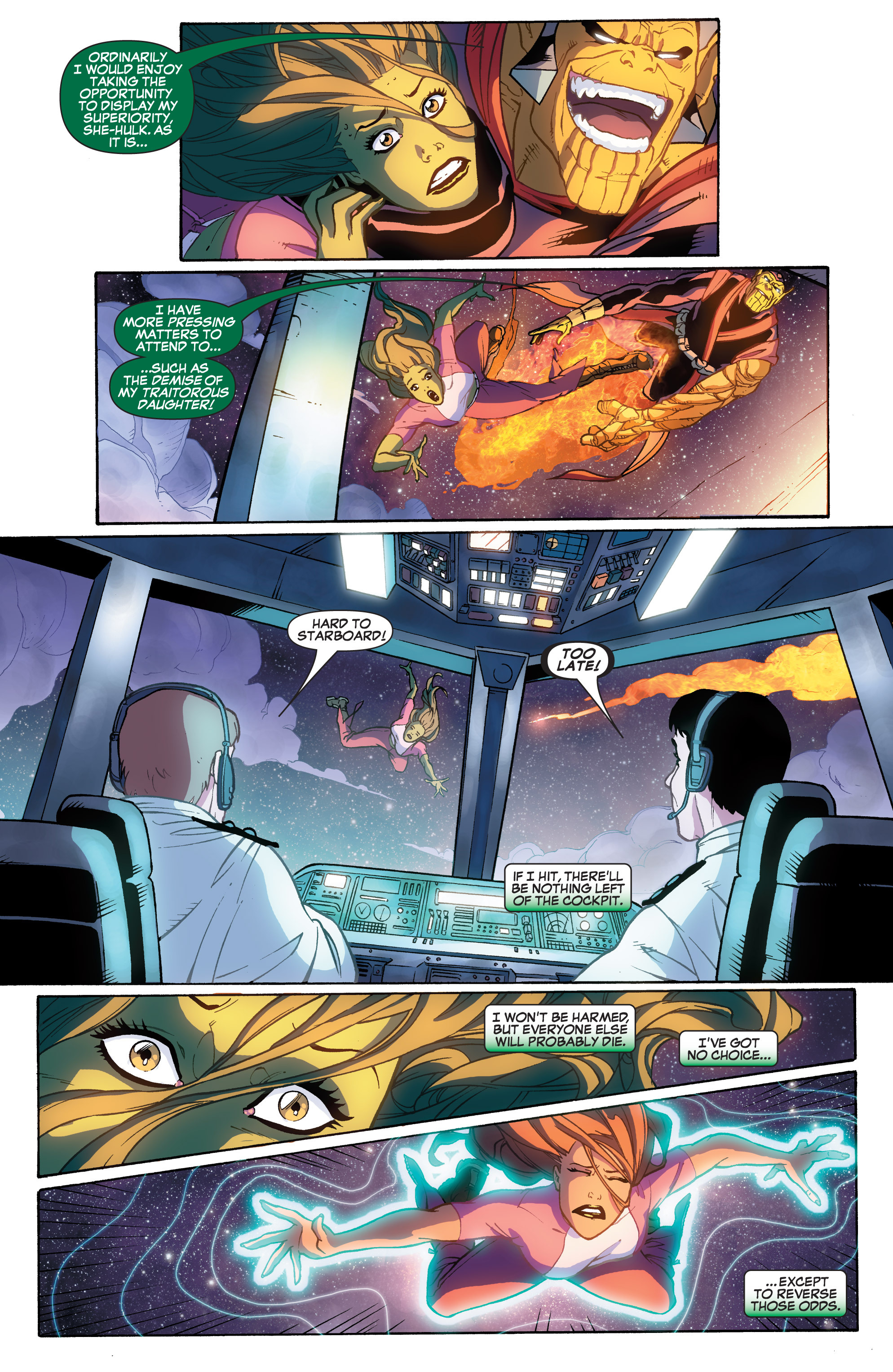 Read online She-Hulk (2005) comic -  Issue #33 - 4