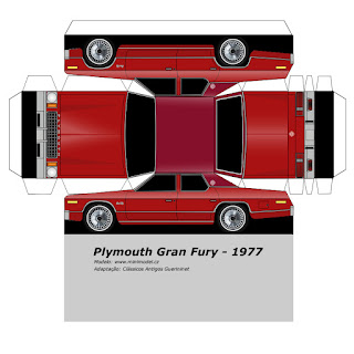 PaperCraft - 1977 Plymouth Gran Fury