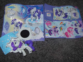 MLP Kinder Maxi Surprise Egg Rarity Figure