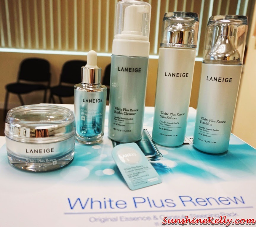 New Laneige White Plus Renew Range, laneige, Laneige White Plus Renew, Capsule Sleeping Pack, Original Cream, bubble cleanser, skin refiner, emulsion, korean skincare, korean beauty