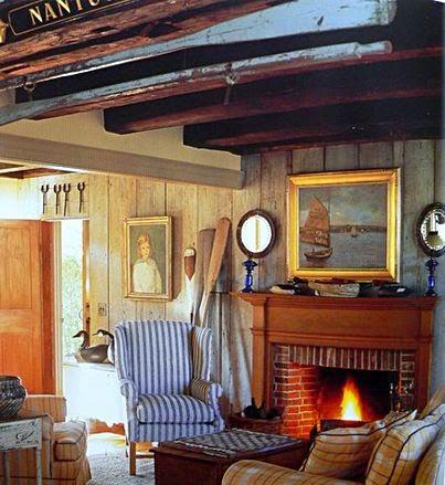 New England style cottage decor