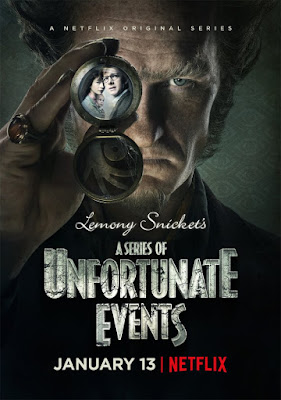 Lemony Snicket's A Series of Unfortunate Events Netflix Poster