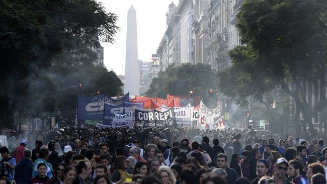 Thousands of Argentine protesters demand answers on fate of missing activist