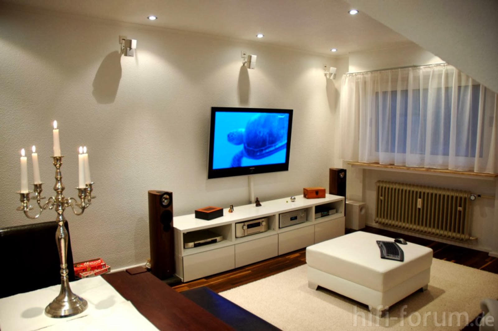 Salas modernas con tv salas con estilo for Ideas de decoracion para salas modernas
