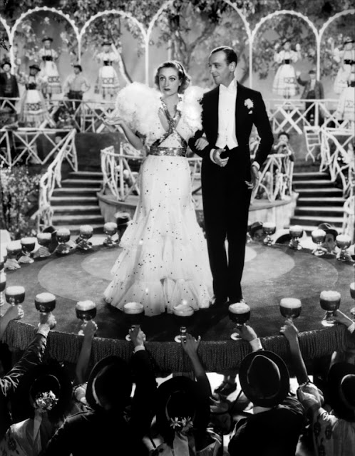 Joan Crawford and Fred Astaire in Dancing Lady (1933)