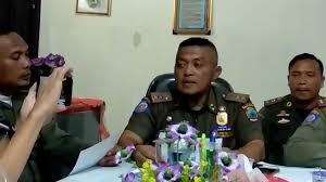 Sat Pol PP Lamsel Berhentikan Anggota Honorernya Yang Malas