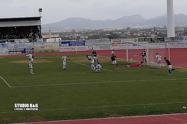 0-1 έχασε ο Παναργειακός από την Καλαμάτα στο Άργος (βίντεο)