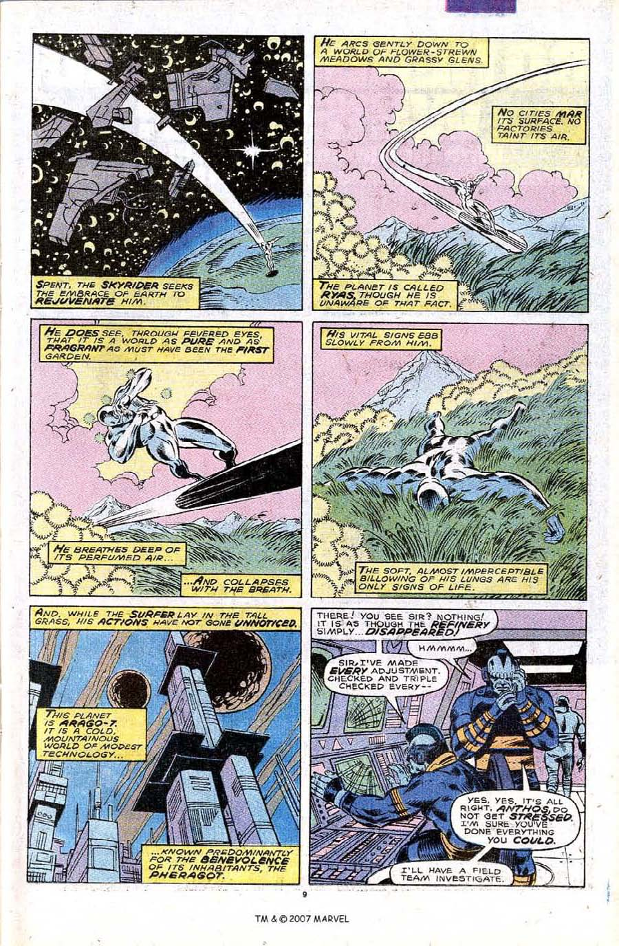 Read online Silver Surfer (1987) comic -  Issue #32 - 11