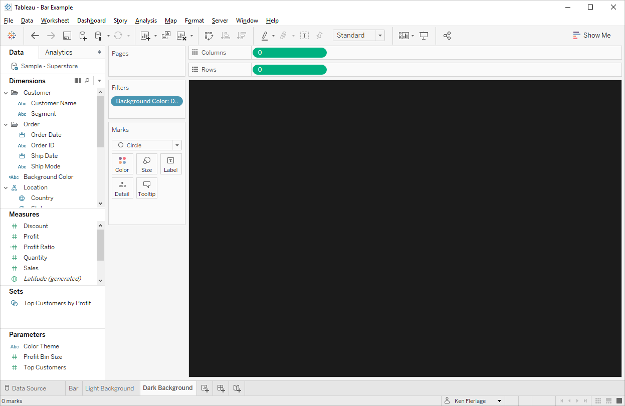 Color Theming In Tableau