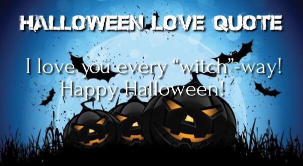 Halloween Love Quotes