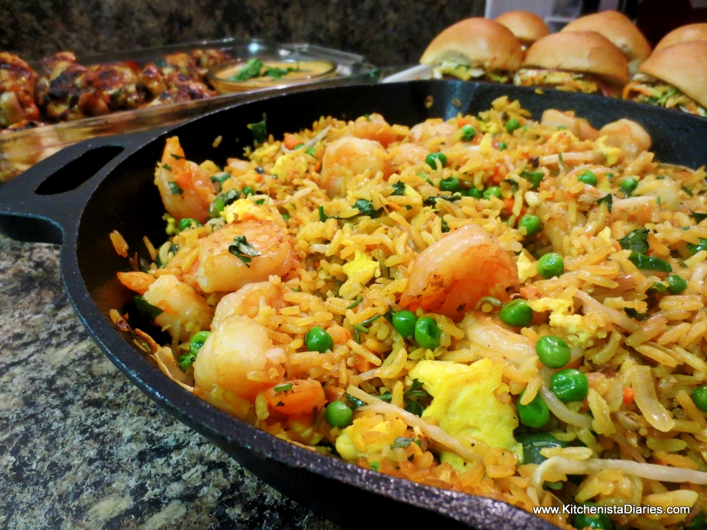 Shrimp fried coconut rice the kitchenista diaries one of my followers on twitter asked for a good shrimp fried rice recipe she could make at home and with shrimp being a favorite around here ccuart Image collections