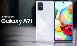 Samsung ने लॉन्च किया Galaxy A71 प्रीमियम 64MP क्वाड कैमरा स्मार्टफोन, इसमें है 4,500 mAh की बैटरी