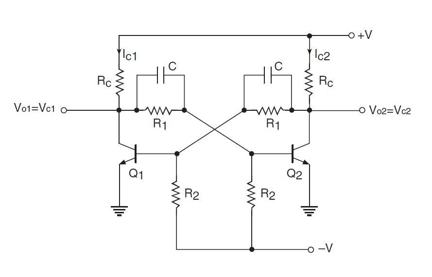 bistable flip flop circuit