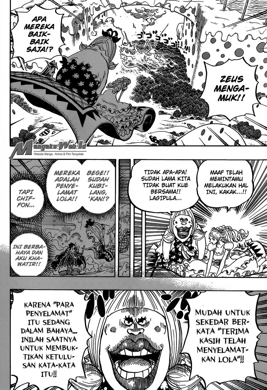 One Piece – Chapter 875 : Kehormatan Wanita