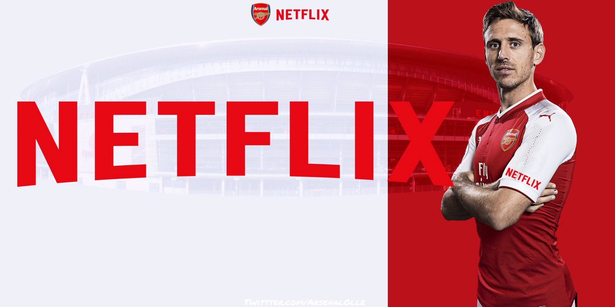 726862cc07f Netflix  Arsenal Close to Sign Sleeve Sponsor + Adidas Kit Deal ...