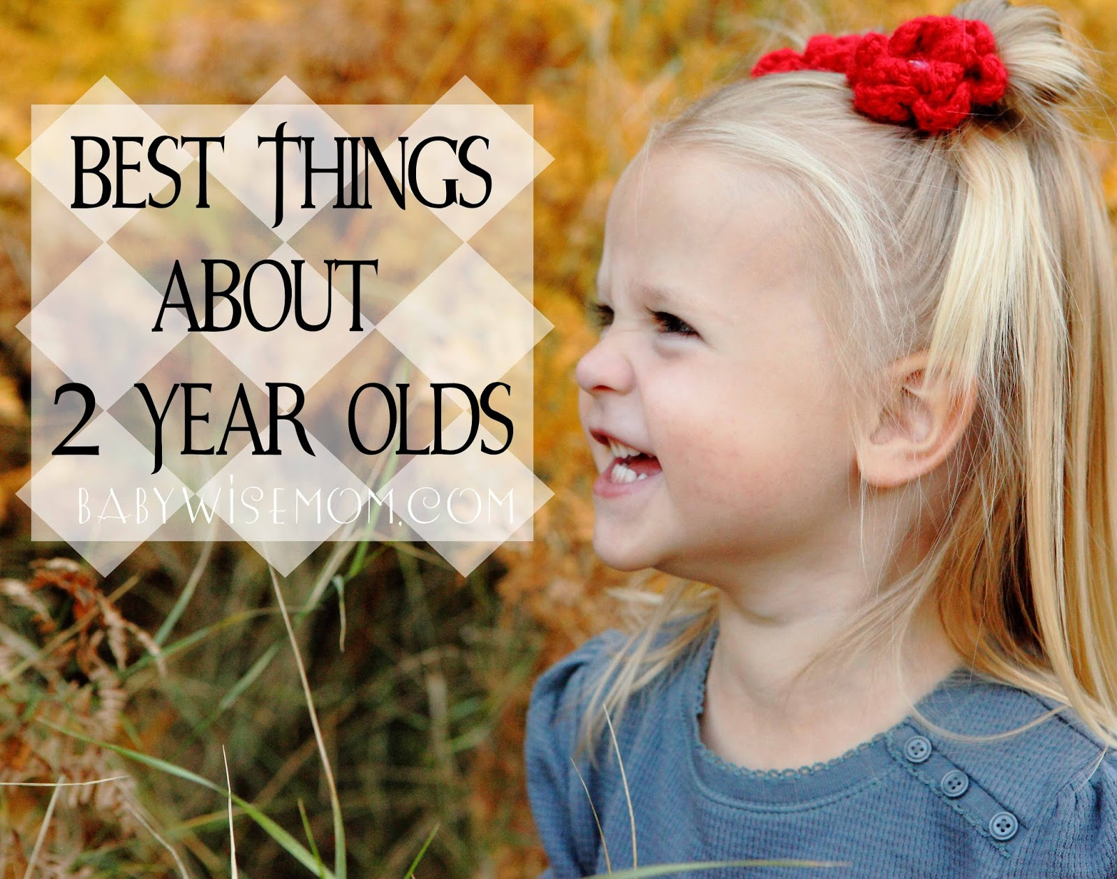 The Best Things About Two Year Olds