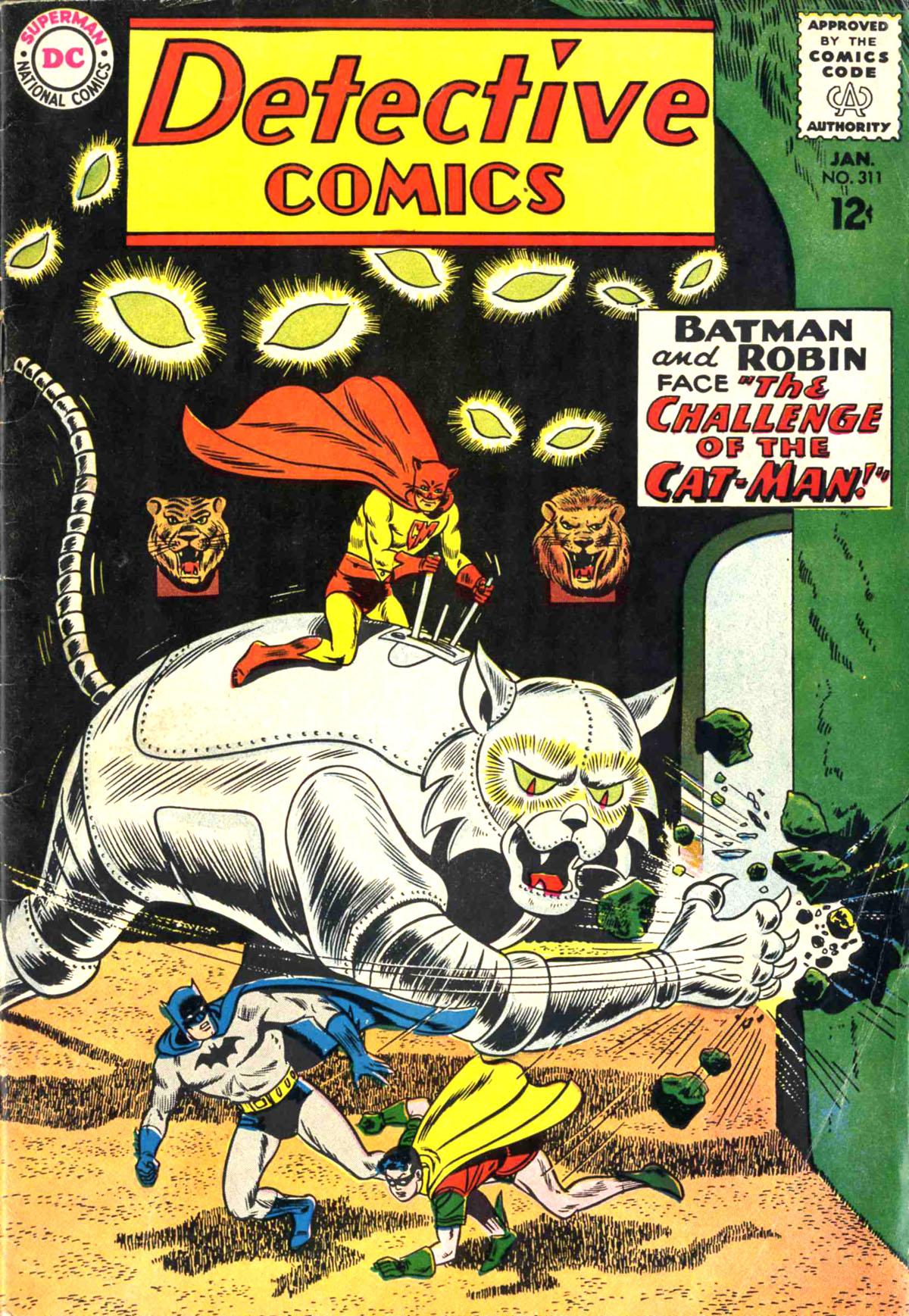 Detective Comics (1937) 311 Page 0
