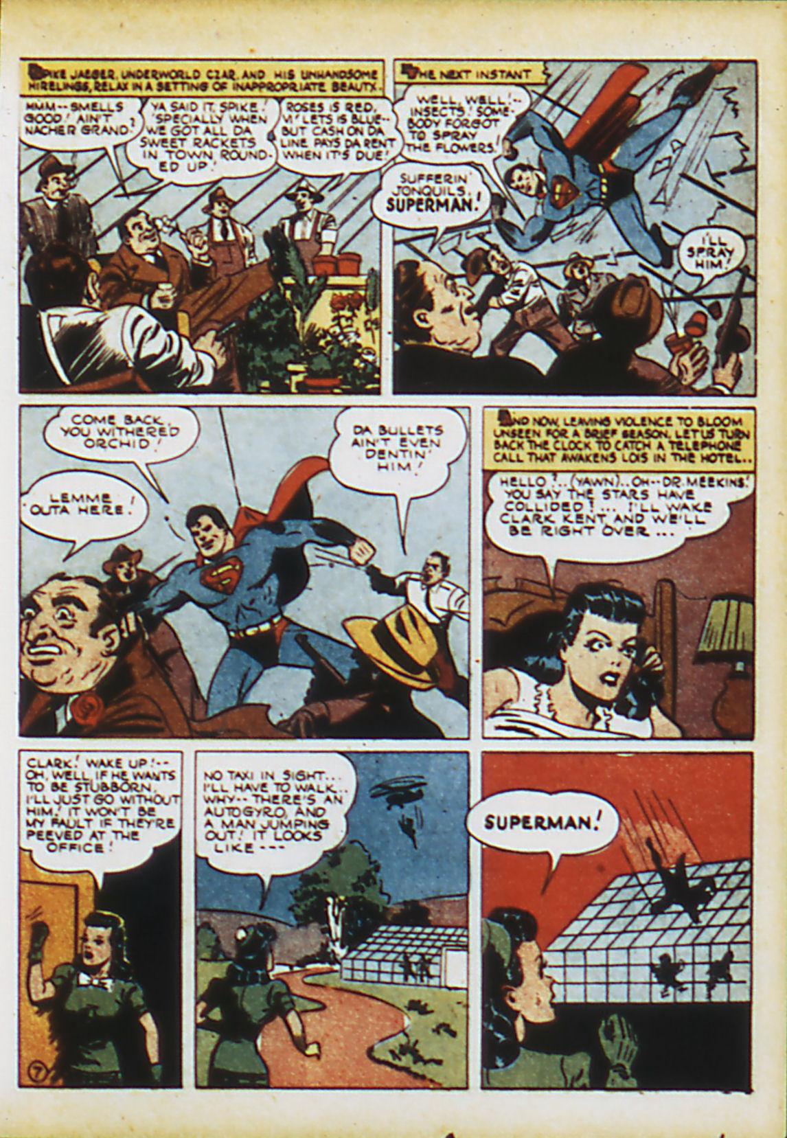 Read online Action Comics (1938) comic -  Issue #63 - 10